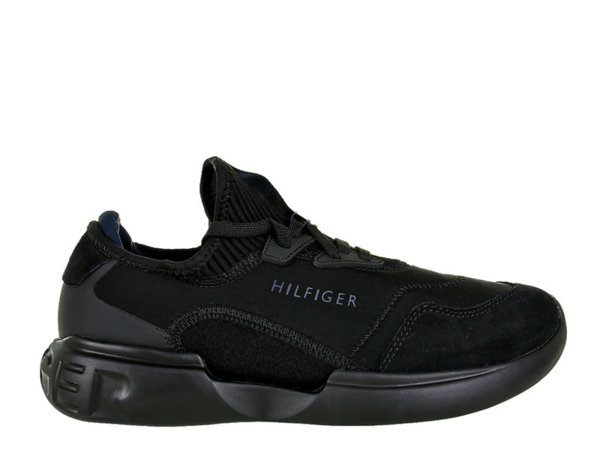 Мъжки обувки Tommy Hilfiger Corporate Mix Modern Low Cut - Черни