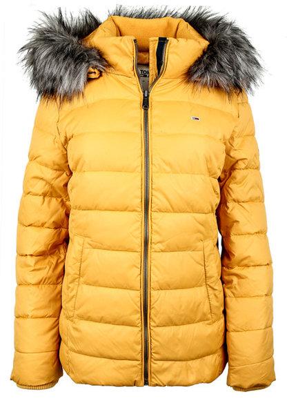 Дамско яке Tommy Hilfiger Tjw Essential Hooded Jacket - Жълто