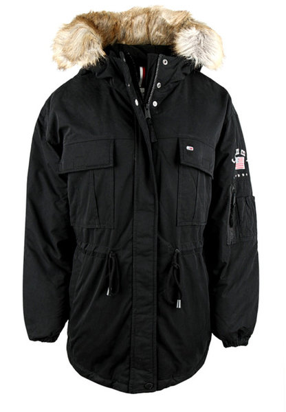 Дамско яке Tommy Hilfiger Tjw Expedition Waist Jacket - Черно