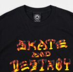 Мъжка тениска Thrasher Skate & Destroy - BBQ