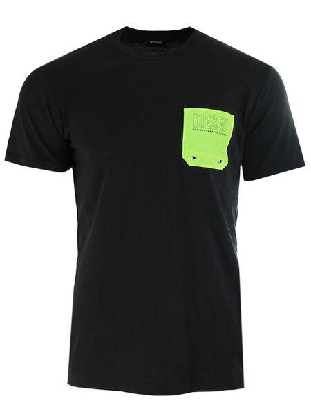 Мъжка тениска Diesel BMOWT DIEGO - Черна