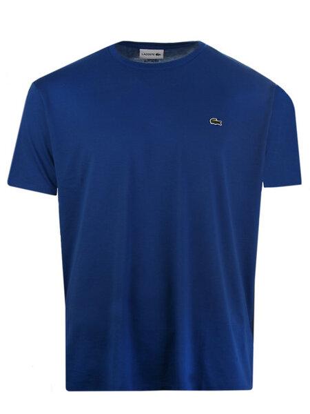 Мъжка тениска Lacoste Crew Neck Pima - Синя