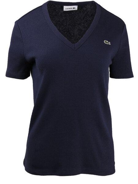 Дамска тениска Lacoste - Тъмно синя