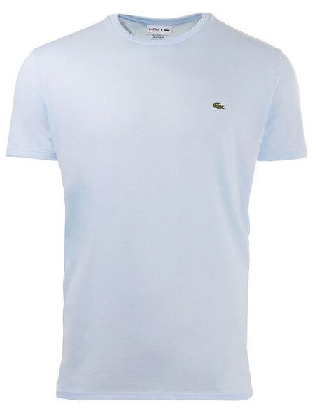Мъжка тениска Lacoste Crew Neck Pima Cotton - Синя