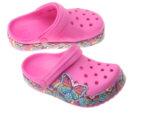 Świecące klapki dziecięce Crocs 206158-6QQ