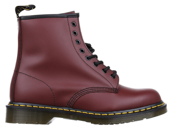 Обувки Dr. Martens Cherry Red Smooth 1460 - Червени