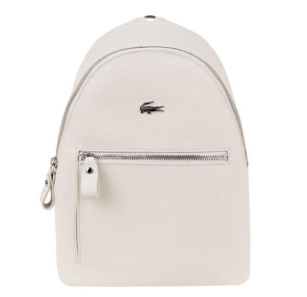 Дамска раница Lacoste LG Woman Access Premium - Бяла
