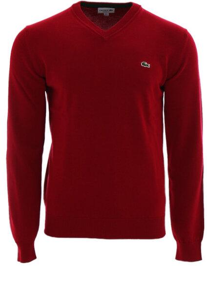 Мъжка блуза Lacoste Men's sweater - Бордо