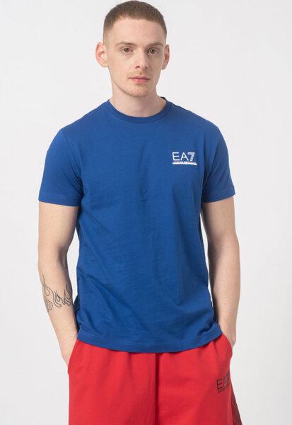 Мъжка тениска ЕА7 3KPT17 PJ7CZ 1570 - Синя