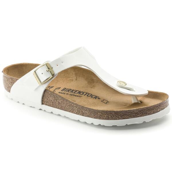 Дамски сандали Birkenstock Gizeh BF - Бели