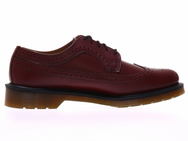 Dr.Martens CHERRY RED SMOOTH BROGUES