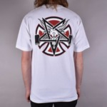 Мъжка тениска Independent Trucks x Thrasher Pentagram - Бяла