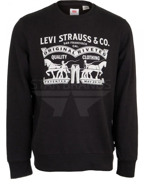 Мъжки суичър Levis Graphic Crew Sweatshirt