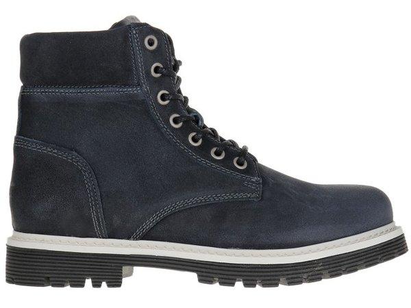 Мъжки обувки Tommy Hilfiger Jeans Suede Boot - Тъмно сини