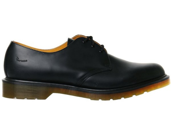 Обувки Dr. Martens Smooth Black Noir 1461 - Черни