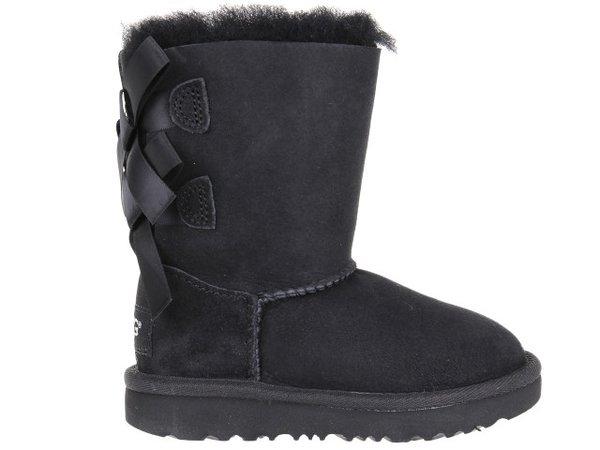 Детски обувки UGG Bailey Bow II - Черни
