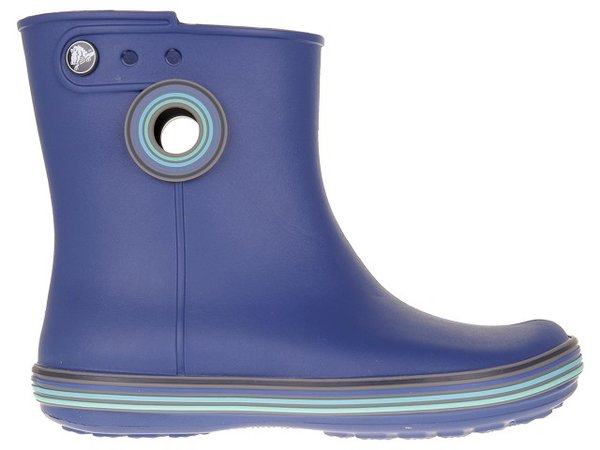 Детски обувки CROCS Jaunt Stripes Shorty Boot - Сини