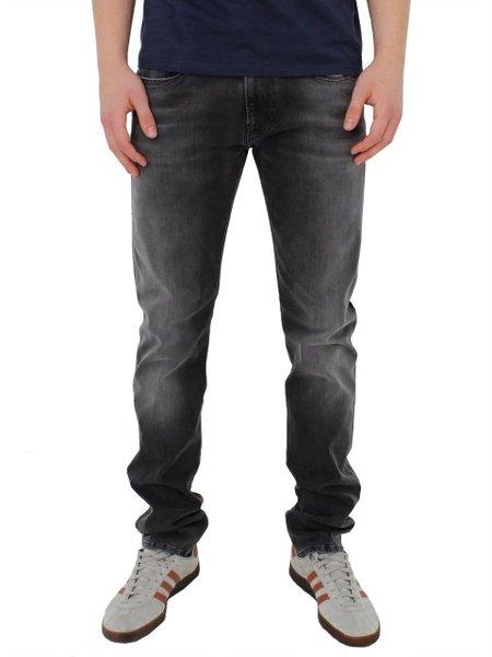 Мъжки дънки REPLAY Men's Jeans Hyperflex Anbass Slim Fit - Сиви
