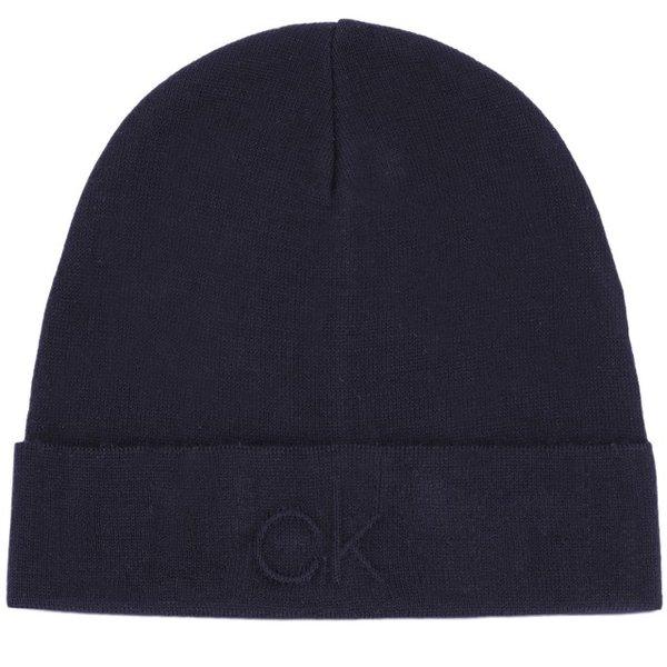 Зимна шапка Calvin Klein - Тъмно синя
