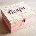 Голяма кутия за спомени Рози със/без продукти