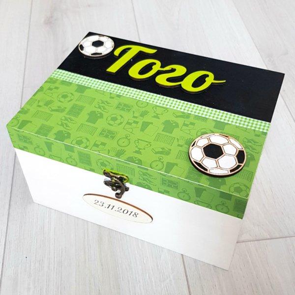 Голяма кутия за спомени Футбол със/без продукти