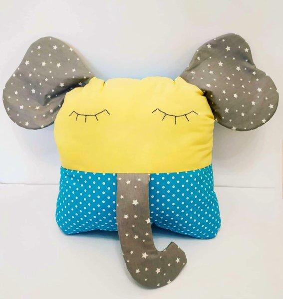 Ръчно изработена възглавничка от плат Слонче/ видове