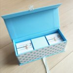 """Малка кутия за спомени """"Пъпче, зъбче, косичка"""" момче"""