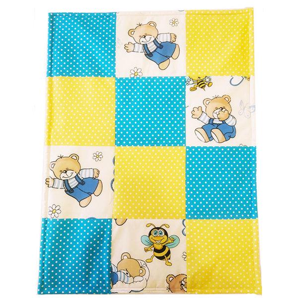 Ръчно изработен одеяло от памучен плат (момче)