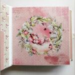 """Ръчно изработен бебешки албум-дневник """"Вълшебна година"""""""