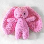 Ръчно плетена играчка от бебешка прежда Зайче/ видове