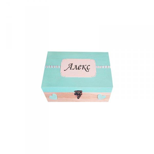 Кутия за спомени Сърца с продукти