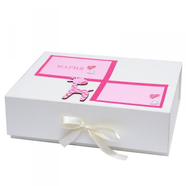 Ръчно декорирана кутия за спомени