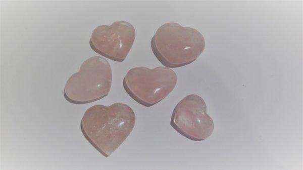 Сърце от Розов кварц