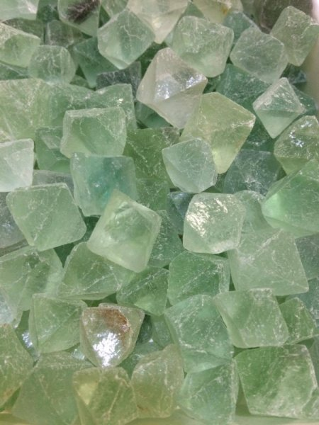 Флуорит - кристали