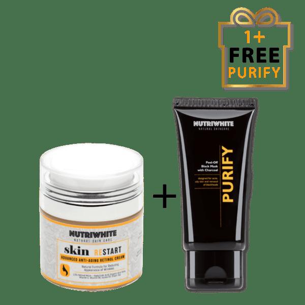 NUTRIWHITE Skin restart + Purify безплатно