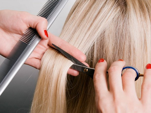 Подстригване, дълбоко възстановяваща маска и оформяне