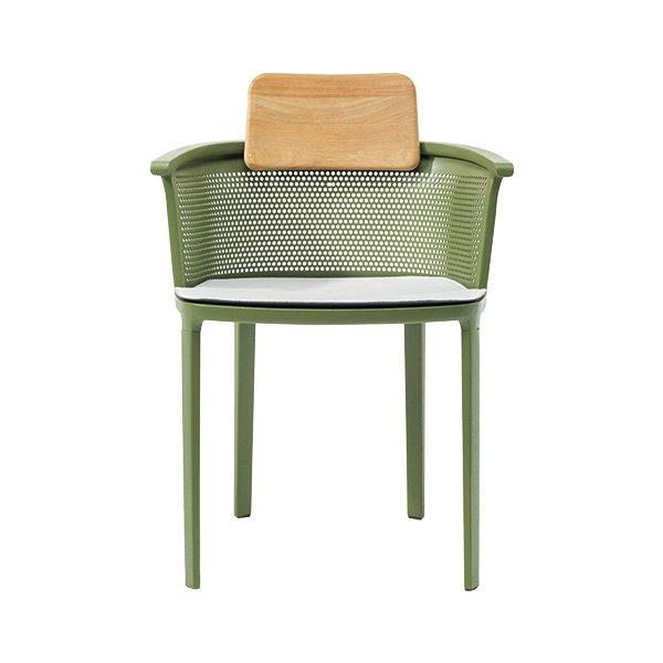 Луксозен стол Сезан  тъмно червен + бял кант