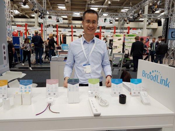 BroadLink на изложението CeBit 2017 в Хановер