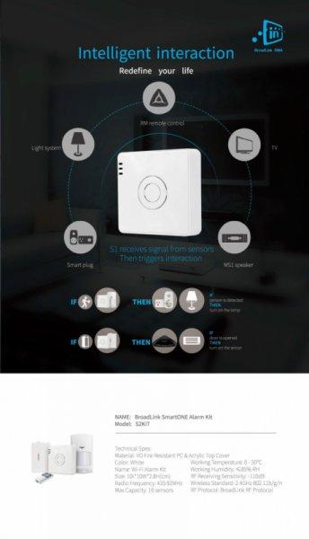 Новия Broadlink S2 Alarm Kit