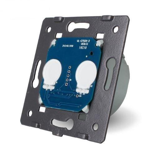 LIVOLO - VL-C702S -МОДУЛ-Двоен девиаторен сензорен ключ без дистанционнен контрол