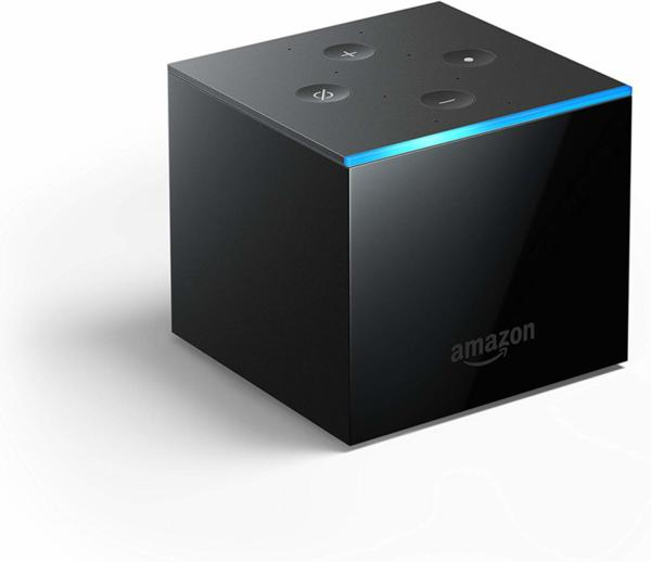 Amazon Fire TV Cube с Alexa, 4K Ultra HD streaming медия плейър