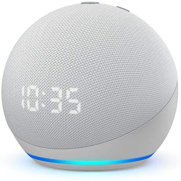 Amazon Echo Dot 4th Gen  с часовник