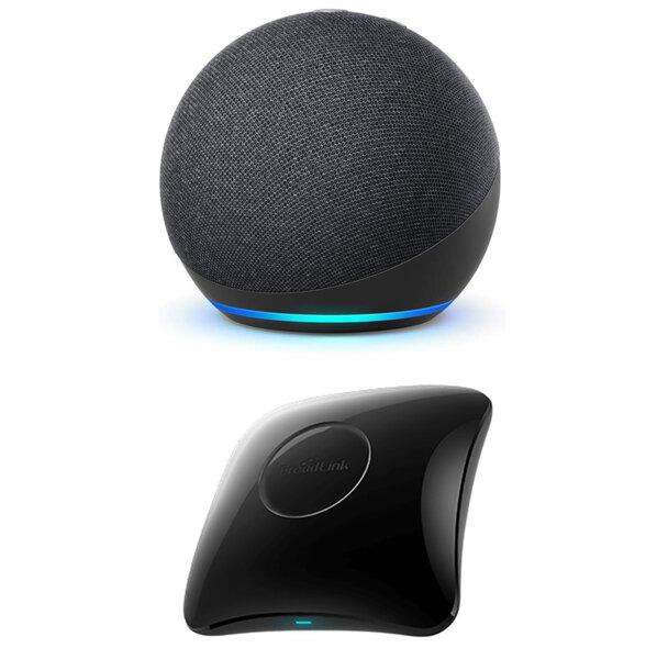 Комплект Amazon Echo Dot 4th Gen + BroadLink RM4 Pro