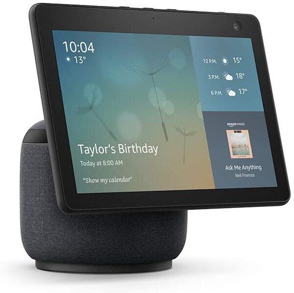 Amazon Echo Show 10 (3rd Generation) с движение и вграден Smart Home Hub