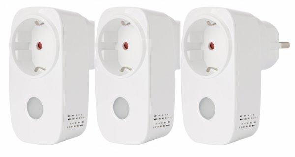 Комплект 3бр. BroadLink SP3 Wi-FI -Умен Wi-Fi контакт