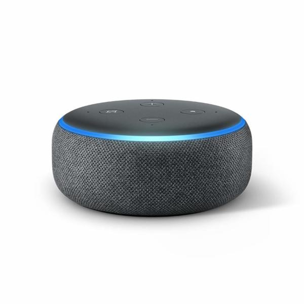 Amazon Echo Dot (3rd Generation) - Черен цвят