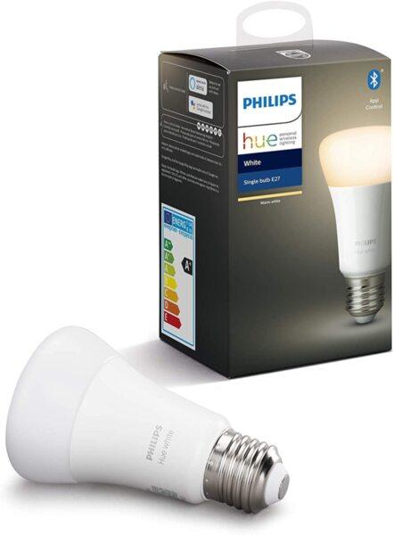 Philips Hue Бяла E27 9W