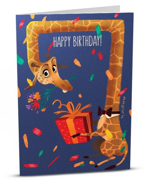 Birthday Giraffe