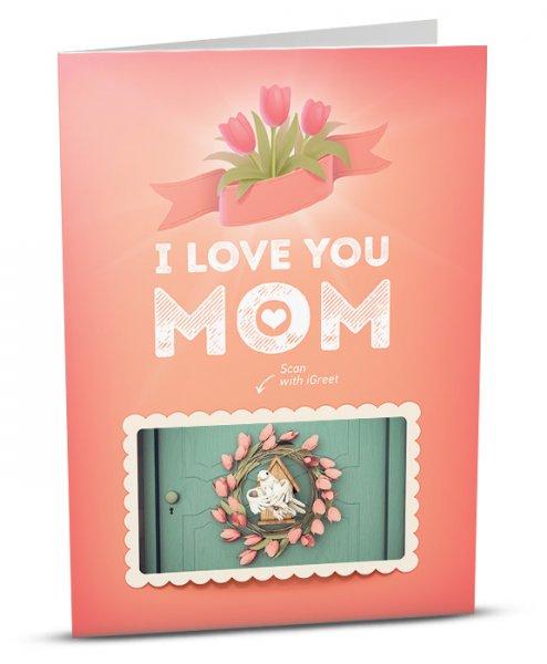 Обичам те, мамо !