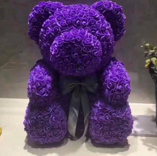 Мечка от цветя